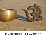 singing bowl sand vibrations