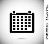 calendar icon  vector best flat ... | Shutterstock .eps vector #556291963