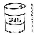 oil barrel   cartoon vector and ... | Shutterstock .eps vector #556368967