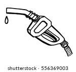 petrol pump   cartoon vector... | Shutterstock .eps vector #556369003