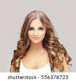 beauty portrait of a young girl....   Shutterstock . vector #556378723