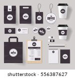 corporate branding identity... | Shutterstock .eps vector #556387627