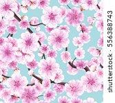 seamless background pattern of... | Shutterstock .eps vector #556388743
