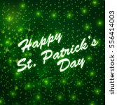 st. patrick's day greeting. | Shutterstock . vector #556414003