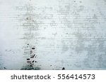 Small photo of White Rustic Brick Texture. Retro Whitewashed Old Brick Wall Surface.