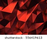 red abstract background 3d...   Shutterstock . vector #556419613