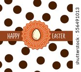 easter greetings card template. ...   Shutterstock .eps vector #556491013