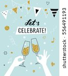 party invitation background... | Shutterstock .eps vector #556491193