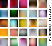 set of 25 abstract colorful... | Shutterstock .eps vector #556516597