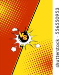 vector illustration of  fight... | Shutterstock .eps vector #556550953