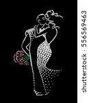 loving couple | Shutterstock .eps vector #556569463