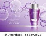 cosmetic bottle vector.premium... | Shutterstock .eps vector #556593523