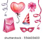 watercolor illustration ... | Shutterstock . vector #556603603