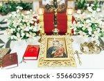 accessories for wedding ceremony   Shutterstock . vector #556603957
