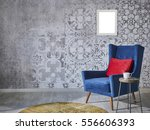 beautiful grey wall with... | Shutterstock . vector #556606393