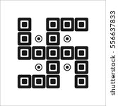 indian swastika symbol simple...   Shutterstock .eps vector #556637833