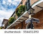 street signs and architecture... | Shutterstock . vector #556651393