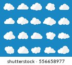 vector illustration of clouds... | Shutterstock .eps vector #556658977