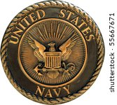 us navy commemorative plaque | Shutterstock . vector #55667671
