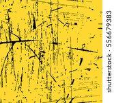 yellow paint. shabby gold...   Shutterstock .eps vector #556679383