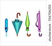 umbrella vector illustration. | Shutterstock .eps vector #556706203