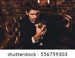 portrait of handsome young man... | Shutterstock . vector #556759303