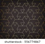 abstract geometric pattern with ... | Shutterstock .eps vector #556774867