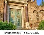Front Door Of The Basilica Of...
