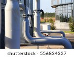 installed industrial... | Shutterstock . vector #556834327