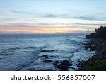 sea. sunset. | Shutterstock . vector #556857007
