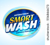 laundry detergent packaging... | Shutterstock .eps vector #556866673