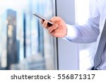 business  people and office... | Shutterstock . vector #556871317