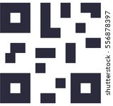 qr code vector icon | Shutterstock .eps vector #556878397