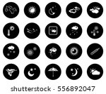 weather icons | Shutterstock .eps vector #556892047