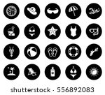 beach icon   Shutterstock .eps vector #556892083
