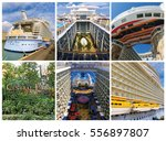 Small photo of Barcelona, Spain - September, 6 2015: Royal Caribbean International, Allure of the Seas