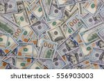 pile of new and old one hundred ... | Shutterstock . vector #556903003