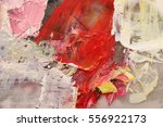 original acrylic colors on... | Shutterstock . vector #556922173