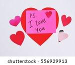 valentine's day | Shutterstock . vector #556929913