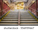 Stairs Of The Subway In London