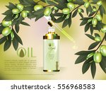 skin serum toner template ... | Shutterstock .eps vector #556968583