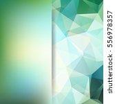 polygonal vector background. ... | Shutterstock .eps vector #556978357