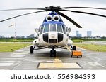 detail with helicopter fuselage ... | Shutterstock . vector #556984393