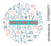 modern medical icon set.vector
