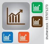 graphic icon vector. business... | Shutterstock .eps vector #557071273