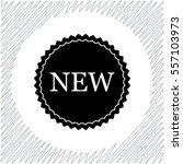 new label vector icon   black ...   Shutterstock .eps vector #557103973
