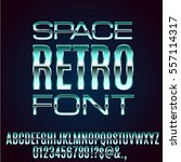 retro future space old vhs age... | Shutterstock .eps vector #557114317