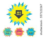 sale stickers and banners. 30 ...   Shutterstock .eps vector #557122267