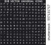 set universal theme vector... | Shutterstock .eps vector #557131717