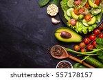 Ingredients For Making Salad O...